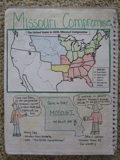Great US History Interactive Notebook Ideas -- ohmohamed [licensed for non-commercial use only] /