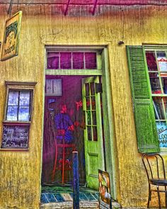 Bar Scene French Quarter New Orleans Photograph by Rebecca Korpita