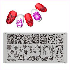 Product Name 2018 Stainless Steel Nail Stamping Plate Template Florid Unicorn Swirl Pattern Butterfly Love Wedding Bride Nail Tool . Bride Nails, Wedding Nails, Wedding Bride, Art Template, Templates, Need Cash Now, Emergency Response Plan, Alcohol Rehab, Stainless Steel Nails