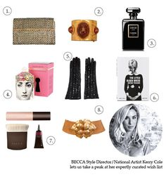 BECCA Style Director/National Artist Kerry Cole lets us take a peak at her expertly curated wish list. #BECCA #WishLists