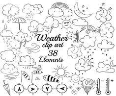 Doodle art sun products 49 ideas for 2019 Sun Doodles, Simple Doodles, Flower Doodles, Rain Clipart, Weather Icons, Art Party, Doodle Art, Doodle Frames, Coloring Pages
