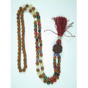 Mogul Meditation Prayer Beads Hindu Japamala Rudraksha Navgraha Healing Mala Image 1 of 2      https://www.walmart.com/search/?cat_id=0&grid=true&page=2&query=mogul+interior+mala+#searchProductResult