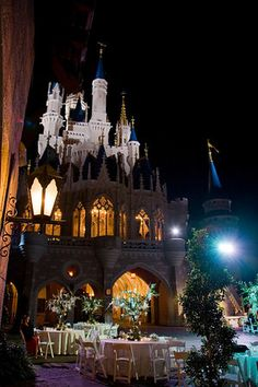 Have the wedding and wedding reception at Disney World. ULTIMATE DREAM