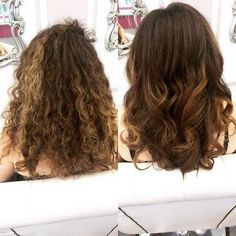 #TransformationTuesday starts with a curly mess to BLO/OUT success!  #BLOOUT #blowdrybar #blowdry #blowout #fb #twitter #hairdo #hairgram #hairfashion #hairofinstagram #hairoftheday #phillyhair