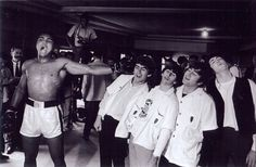 Muhammad Ali and The Beatles