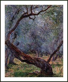 Les Oliviers de Claude Monnet https://www.facebook.com/pages/Mistoulin-et-Mistouline-en-Provence/384825751531072