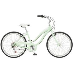 Simple 7 w Mint Green (2007) - Bikes | Giant Bicycles | United States ❤ liked on Polyvore