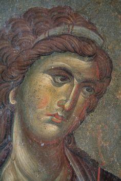 Orthodox Icons, Byzantine, Portrait, Angels, Painting, Halo, Beautiful, Fresco, Headshot Photography
