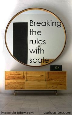 When to break the rules of design.