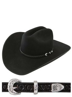 6c81a342ca7 Stetson Hats New Frontier South Point SFSTPT-7240-07 Black  stetson   cowboyhats