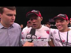 Fight Night Foxwoods: Jacare Souza Octagon Interview - YouTube