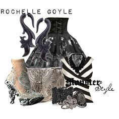 """""""Monster Style : Rochelle Goyle"""" by missm26 on Polyvore"""