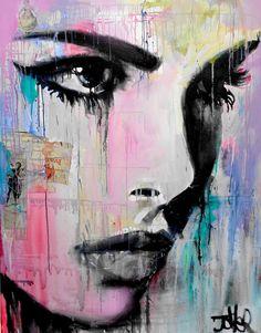 "Saatchi Art Artist: Loui Jover; Household 2015 Painting ""tempest""   Find more portraiture at Saatchi Art: http://www.saatchiart.com/paintings/portrait"