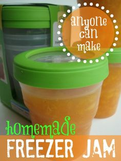 Homemade Freezer Jam - I'm making this now for Thanksgiving!