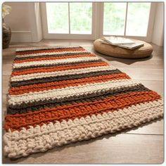 runde häkeln deckchen teppich / häkeln teppich - Teppich Ideen