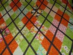 Cascade Quilts: Argyle quilt top DONE!  And my birthday.......
