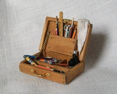 Paint Box (1 inch scale) | by Marquis Miniatures