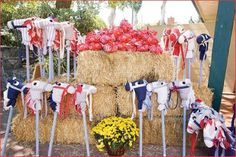 Be sure to buy two stick horses for a stick horse race.   cowgirl birthday | Cowgirl Birthday Party Ideas | Best Birthday Party