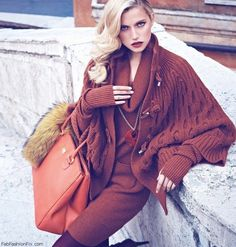 Luisa Spagnoli fall/winter 2013 campaign | Fab Fashion Fix