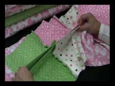 How to make a rag quilt.