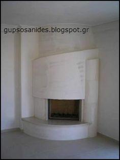 Αποτέλεσμα εικόνας για γωνιακα τζακια με γυψοσανιδα Relax, House, Home Decor, Wood Burning Fireplaces, Houses, Stoves, Bricolage, Homes, Ideas