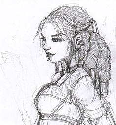 Female dwarf by Axcido.deviantart.com on @deviantART