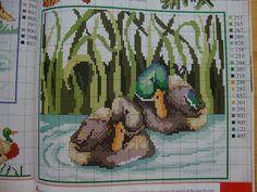 Cross Stitch Bird, Cross Stitch Charts, Cross Stitching, Cross Stitch Patterns, Plastic Canvas Crafts, Plastic Canvas Patterns, Craft Patterns, Handicraft, Birds