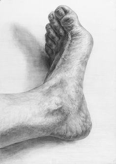 Feet Drawing, Body Drawing, Life Drawing, Anatomy Sketches, Anatomy Drawing, Anatomy Art, Figure Drawing Tutorial, Human Figure Drawing, Pencil Portrait Drawing