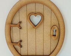 Hadas puerta Craft Kit  Kit puerta hadas 3D por AlchemyEngraving