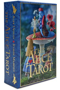 The Alice Tarot — Standard deck, second edition. Queen Alice, Queen Queen, White Queen, Red Queen, March Hare, Tarot Card Decks, Card Storage, Title Card, Oracle Cards