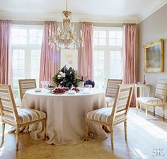 Designer Suzanne Kasler  Traditional And Feminine Dining Room Dining Room  Design, Dinning Nook,