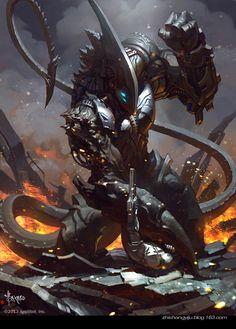 alien by bayardwu - Bayard Wu - CGHUB via PinCG.com