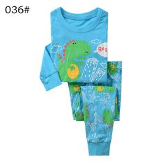 >> Click to Buy << Boys Girls Clothing Set  Sets Autumn Cartoon Dinosaur Blue Color shirt pants two pieces Autumn Winter Size for 2 3 4 5 6 7 years #Affiliate