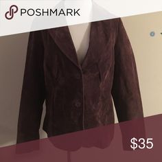 🎉HP🎉 Torrid suede blazer Torrid size 1. 100% suede. Good used condition. torrid Jackets & Coats Blazers