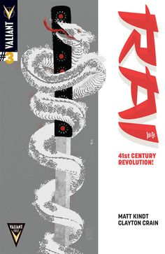 Rai #3 (Valiant First) Preview