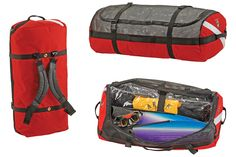 wet/dry scuba gear bag