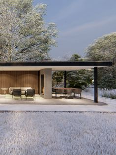 Outside Patio, Outside Living, Outdoor Living, Garden Log Cabins, Outdoor Bbq Kitchen, Rustic Living Room Furniture, Outdoor Seating Areas, Pergola Shade, Modern Landscaping