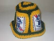 48cdff8535b beer can hat crochet patterns free