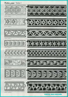 filet crochet technic More how to read charts Some info about filet increases and decreases Free Crochet Stitches from Daisy Farm Crafts - Pin by emilia on crochet Crocheted motif no. Crochet Edging Patterns, Crochet Lace Edging, Crochet Motifs, Crochet Borders, Crochet Diagram, Crochet Trim, Filet Crochet, Easy Crochet, Lace Patterns