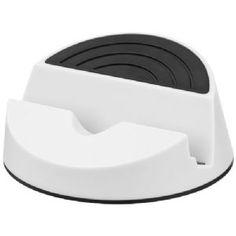 Orso mediahouder wit,zwart 12349303  Orso mediahouder. Stijlvol ontwerp bedoeld als mediahouder voor mobiele apparaten en tablets. Ideaal om films te k...
