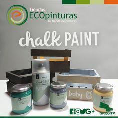 Hoy mostramos Chalk Paint, una pintura al agua con efecto tiza de acabado ultra-mate. Lista al uso. Muy cubriente, con alta pigmentación. Muy resistente al tiempo y a la humedad. Perfecta para #decoración y #restauración de #muebles y todo tipo de objetos. Dots, Innovative Products, Tents, Objects, Furniture, Diy, Stitches, The Dot, Polka Dots