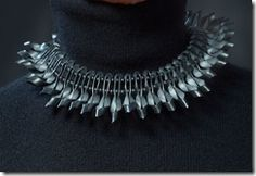 Nov 2011 Inner Tube Jewelry Millipede Necklace Md jpg 014