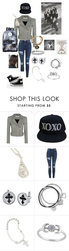 """""""EXO FIRST YEAR XOXO INSPIRED OUTFIT!!! ❤️❤️❤️❤️❤️❤️"""" by taryn2088 on Polyvore featuring IRO, Topshop and BillyTheTree"""