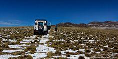 Offroad pelas montanhas de Mendoza, Argentina. Um dia de Land Rover no sopé dos Andes.