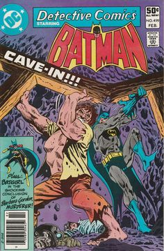Detective Comics Vol. 45 No. 499 1981 by TheSamAntics on Etsy