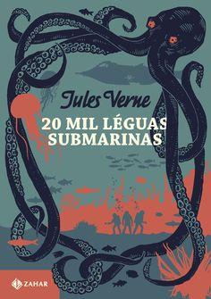 """Em """"20 Mil Léguas Submarinas"""", Jules Verne previa uma máquina capaz de se locomover com um combustível eficiente e inesgotável. Sua """"profecia"""" concretizou-se oito décadas depois, com a criação do primeiro submarino movido à propulsão nuclear."""