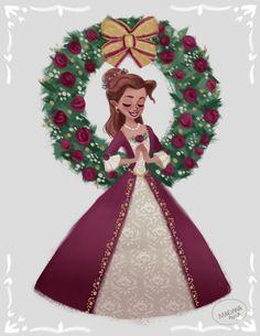 As long as there's christmas Art Print by marianaavilal Cute Disney, Disney Dream, Disney Magic, Disney And Dreamworks, Disney Pixar, Disney Characters, Walt Disney, Disney Belle, Disney Princess Art