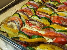 WW Goat Vegetable Tian - Main Course and Recipe New Recipes, Real Food Recipes, Vegan Recipes, Dinner Recipes, Fast Recipes, Big Meals, Easy Meals, Vegetable Tian, Plats Weight Watchers