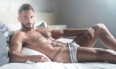 Hairy Risan Banish Shirtless by Leo Castro