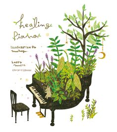 Healing Piano. By Megumi Inoue. http://sorahana.ciao.jp/